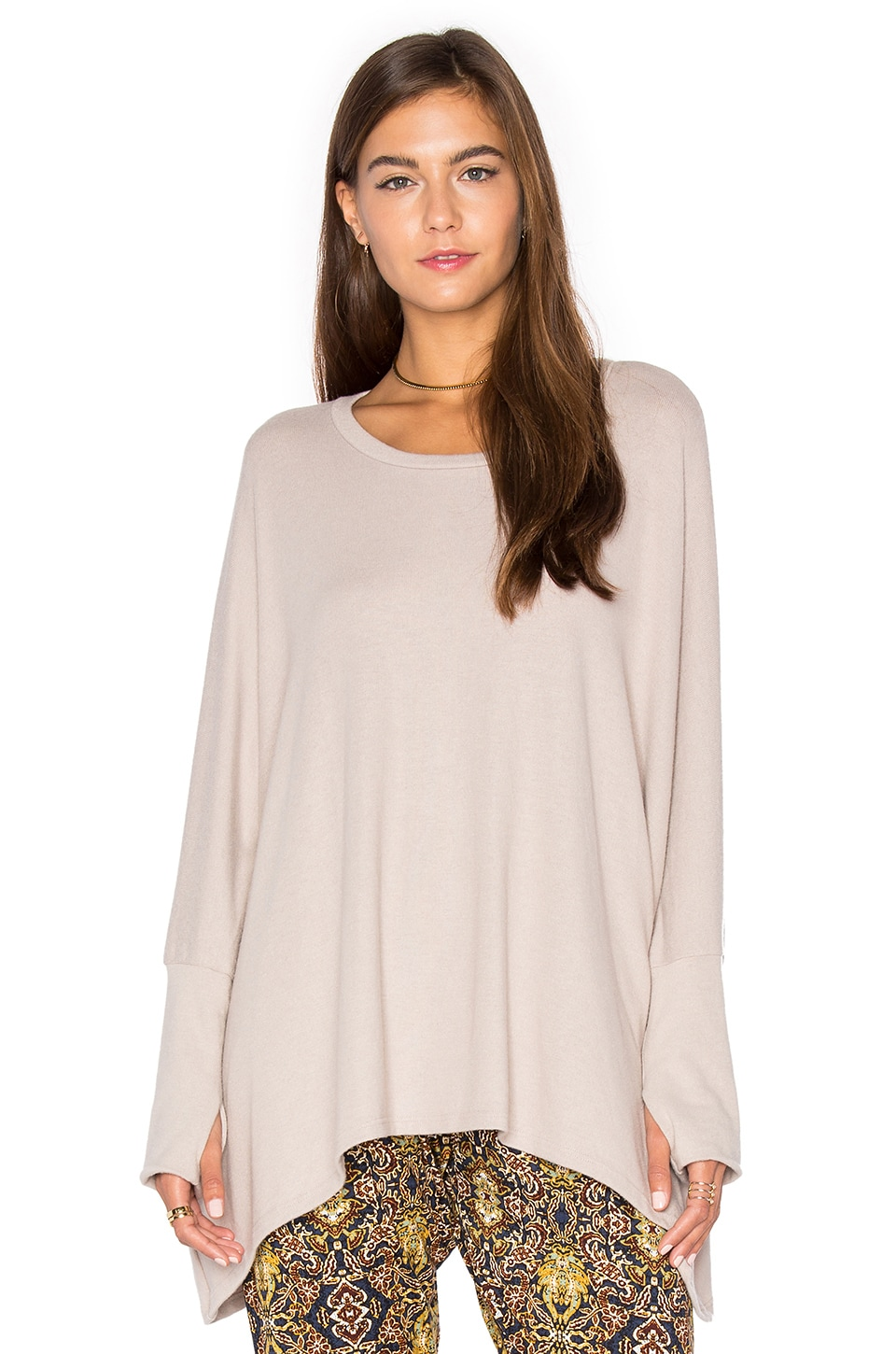Michael Lauren Flint Pullover in Oatmeal