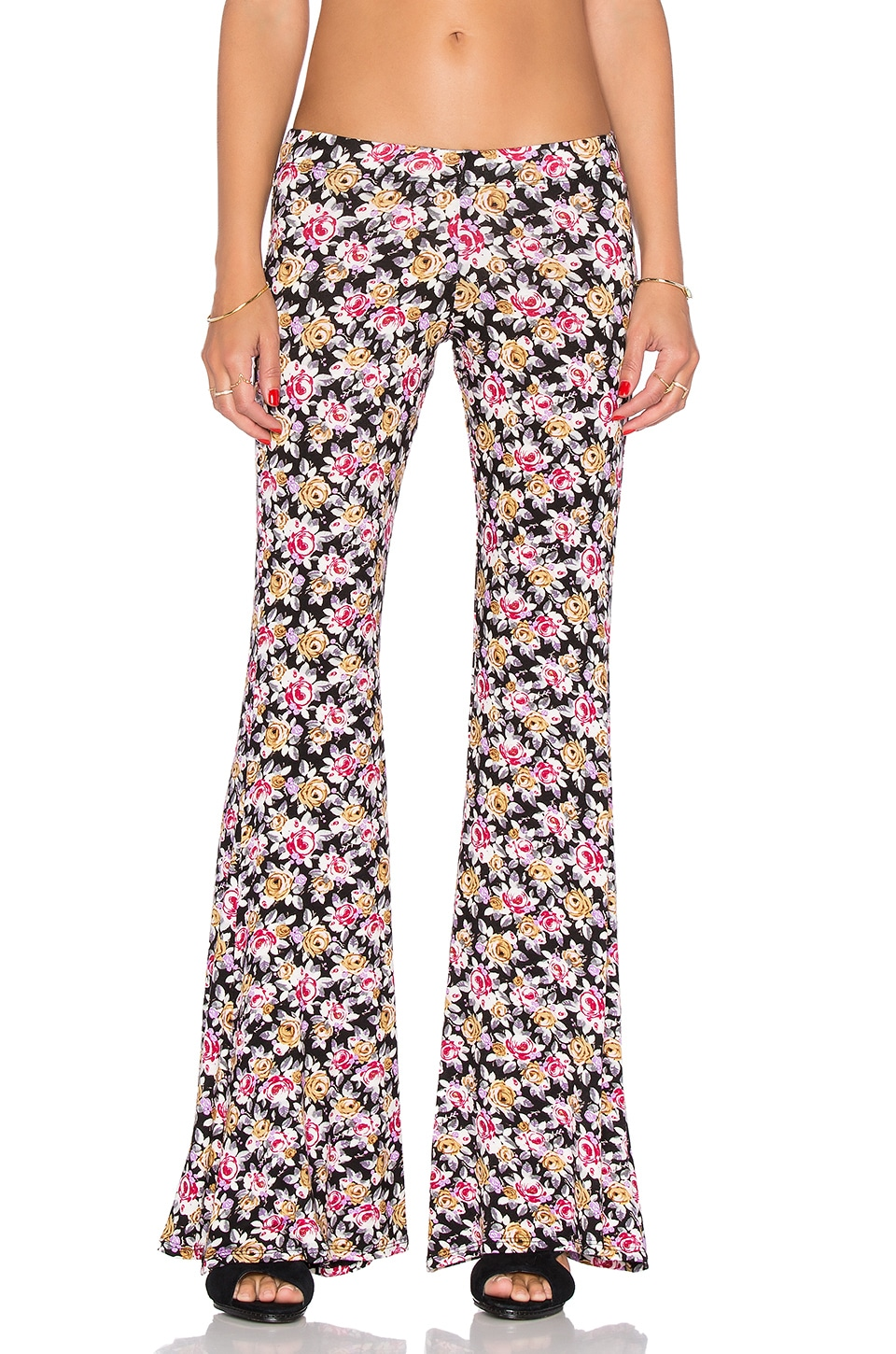 Michael Lauren Mars Bell Pant in Fall Floral