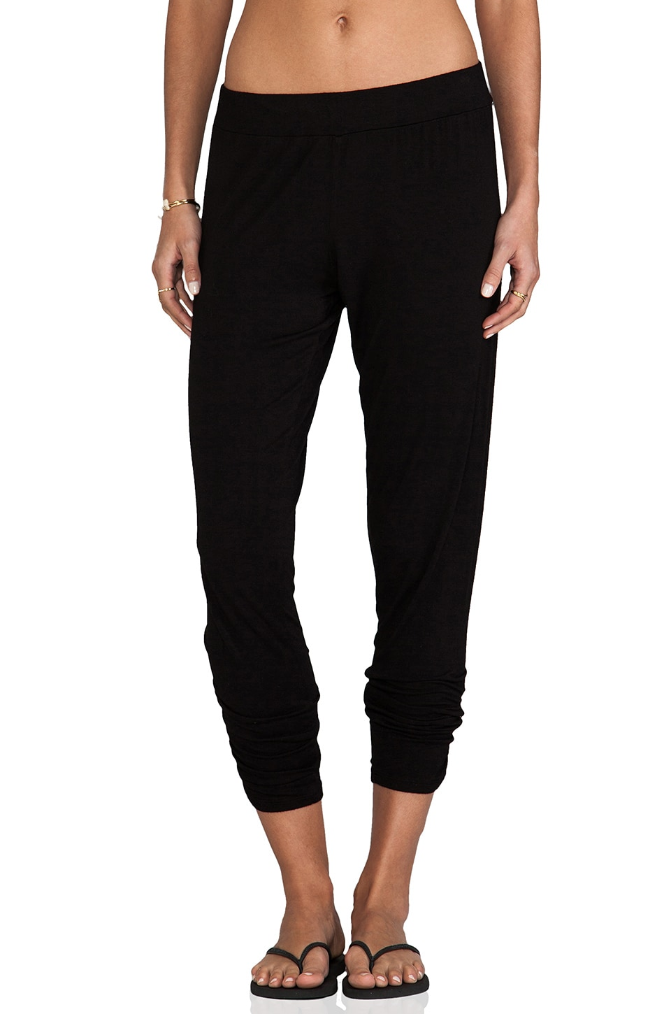 Michael Lauren Pablo Sweatpant in Black
