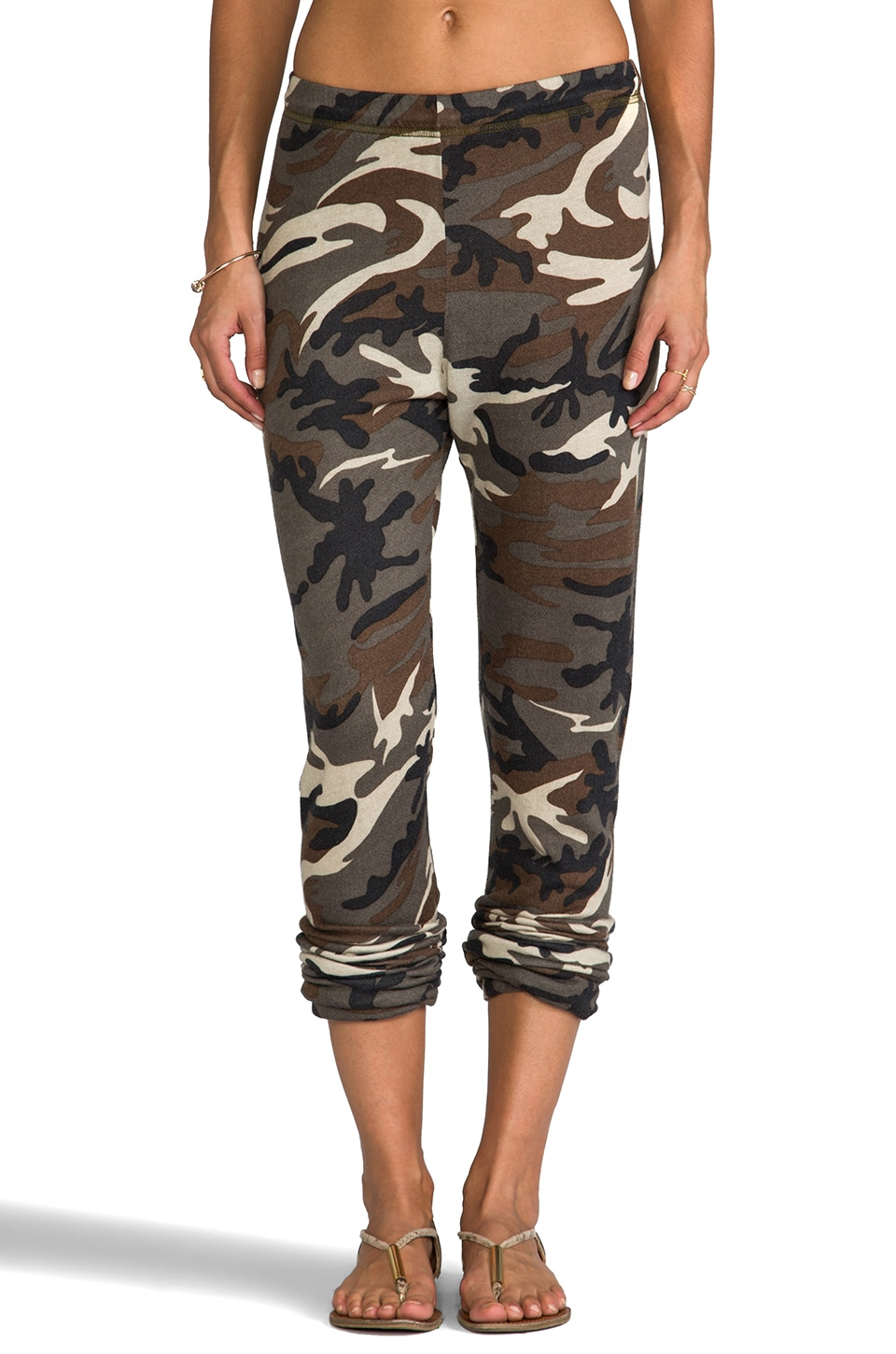 Michael Lauren George Camo Long Pant w/ Elastic in Camo