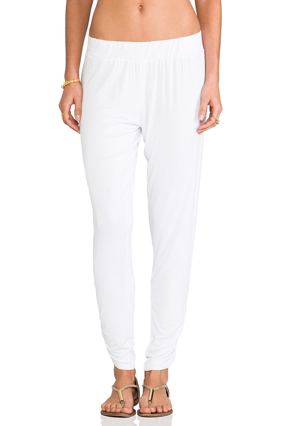Michael Lauren Pablo Pant in White