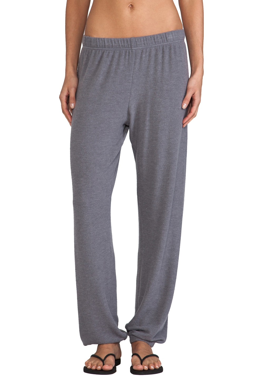 Michael Lauren George Sweatpant in Asphalt
