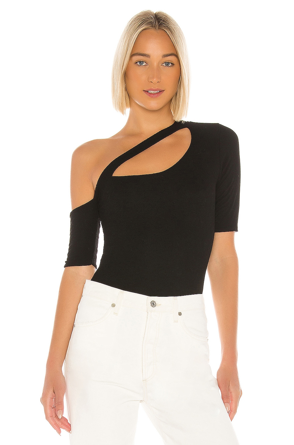 Michael Lauren Woods Top en Black