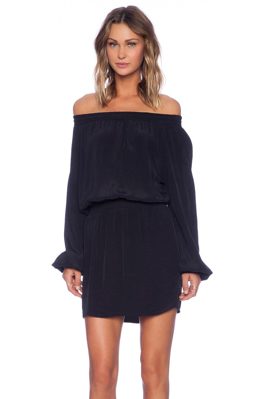 MLM Label Align Off The Shoulder Dress in Black