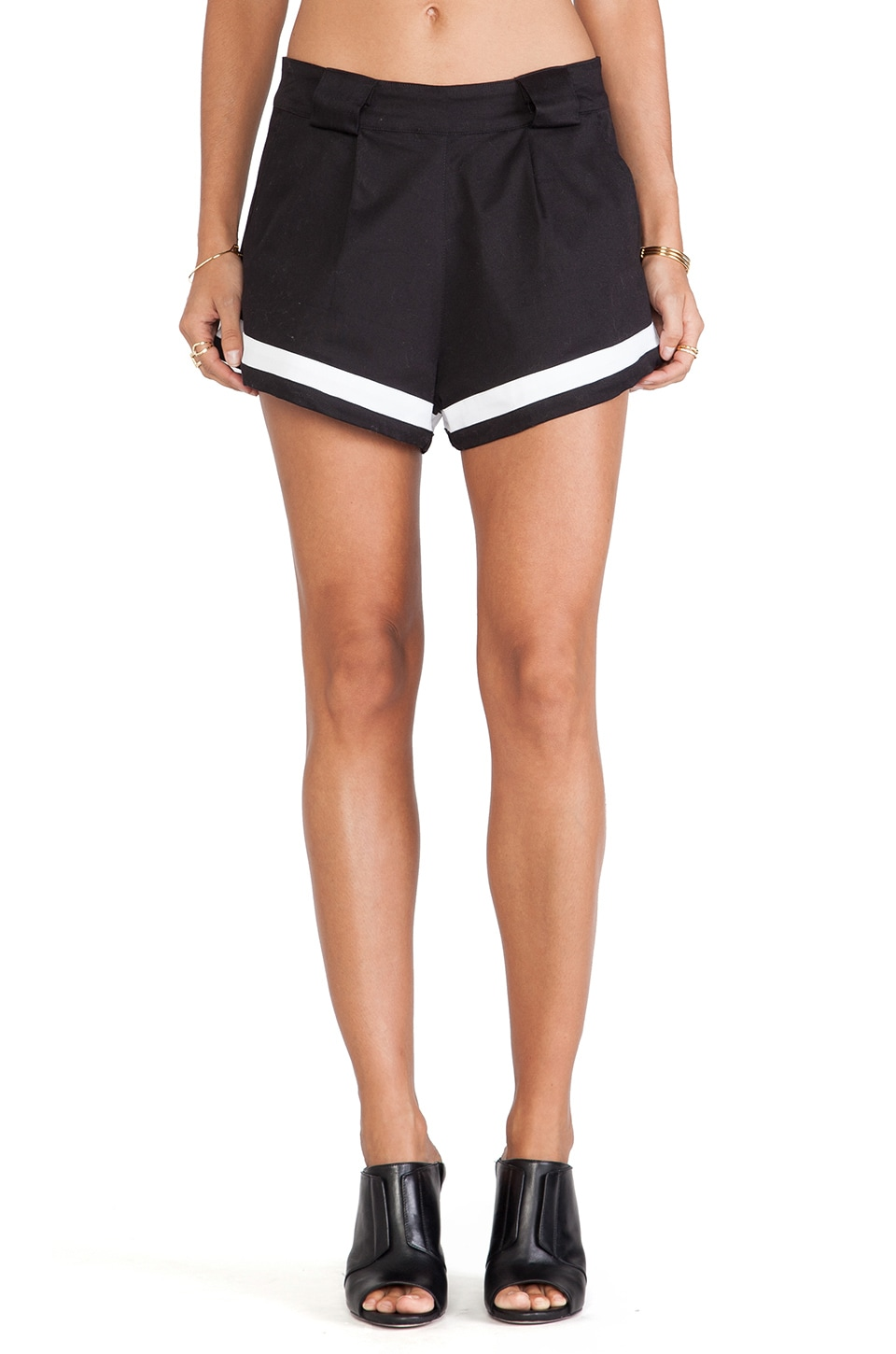 MLM Label Jasper Short in Black & White