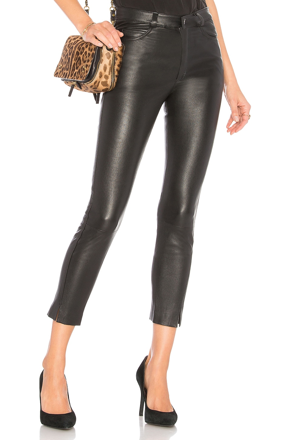 MLML High Rise Twist Jean in Black