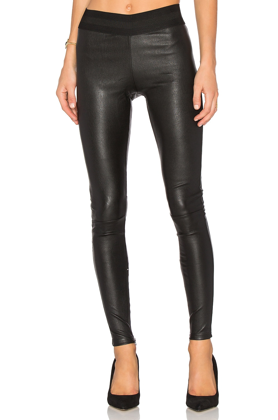 MLML Leather Legging in Black