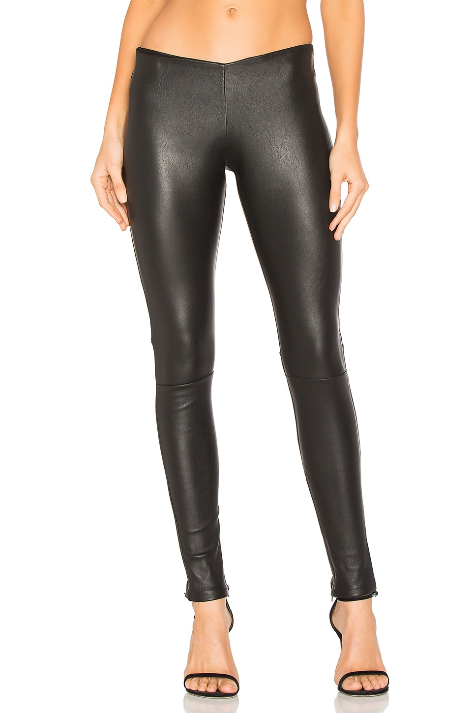 MLML Low Waistband Leggings in Black