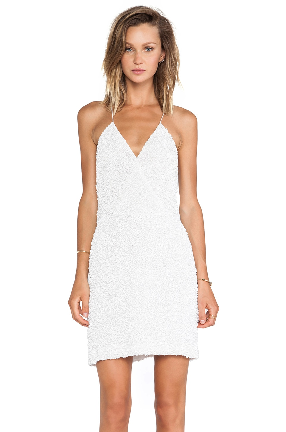 MLV Mira Tank Dress in White