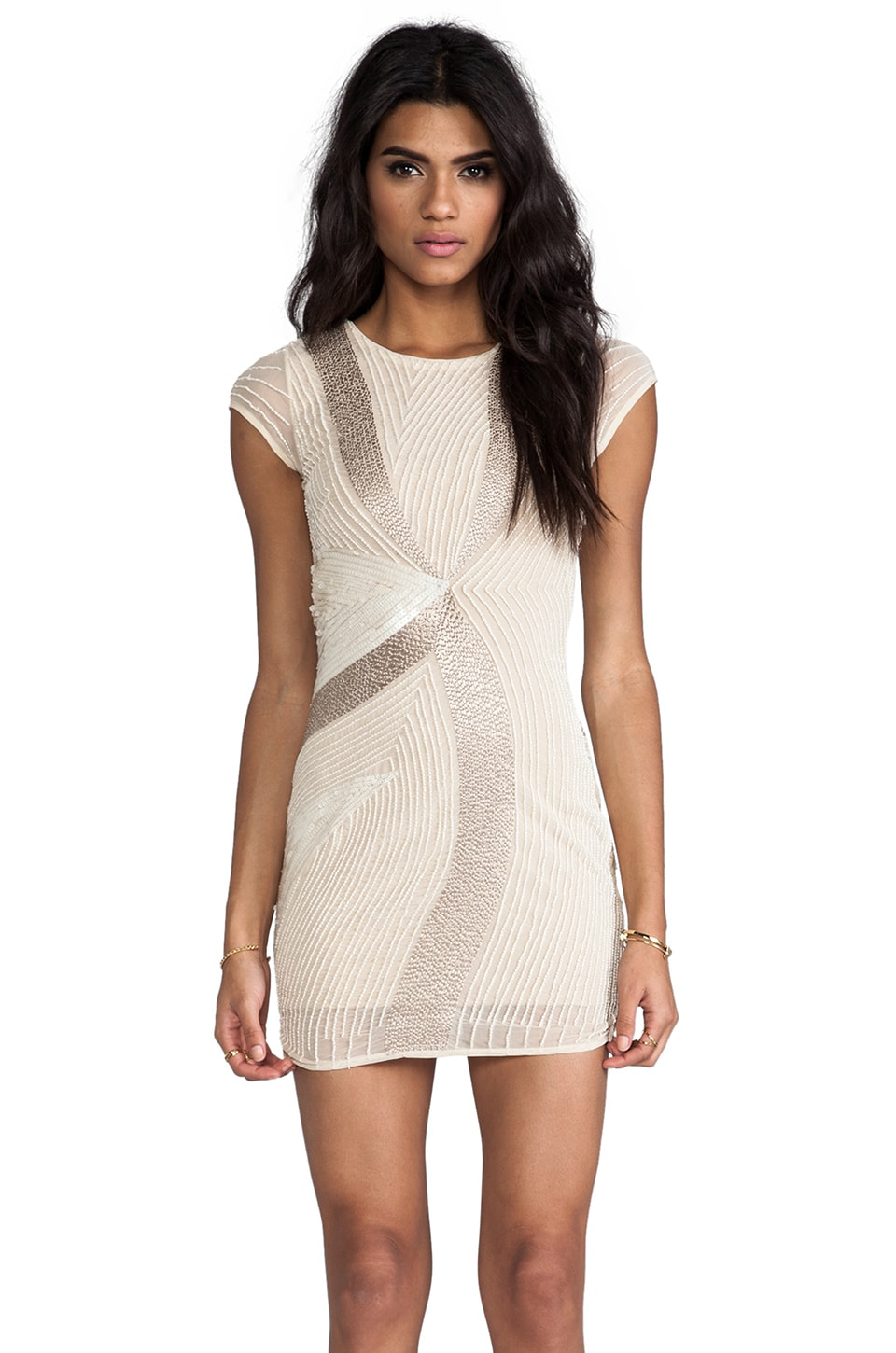 MLV Juliette Beaded Dress in Ivory