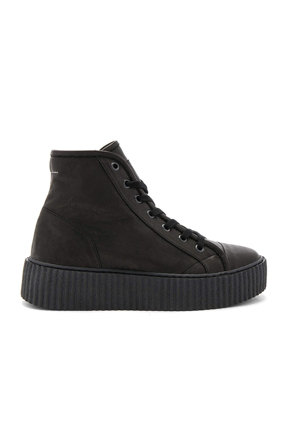 High Top Sneakers by Mm6 Maison Margiela