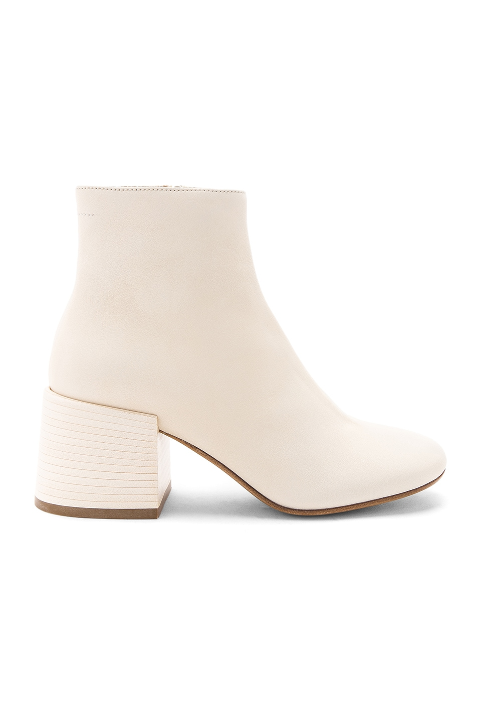 Flare Heel Ankle Boots by MM6 Maison Margiela