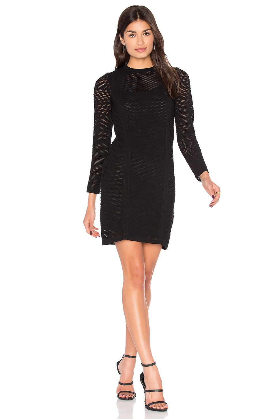 Long Sleeve Mini Dress by M Missoni