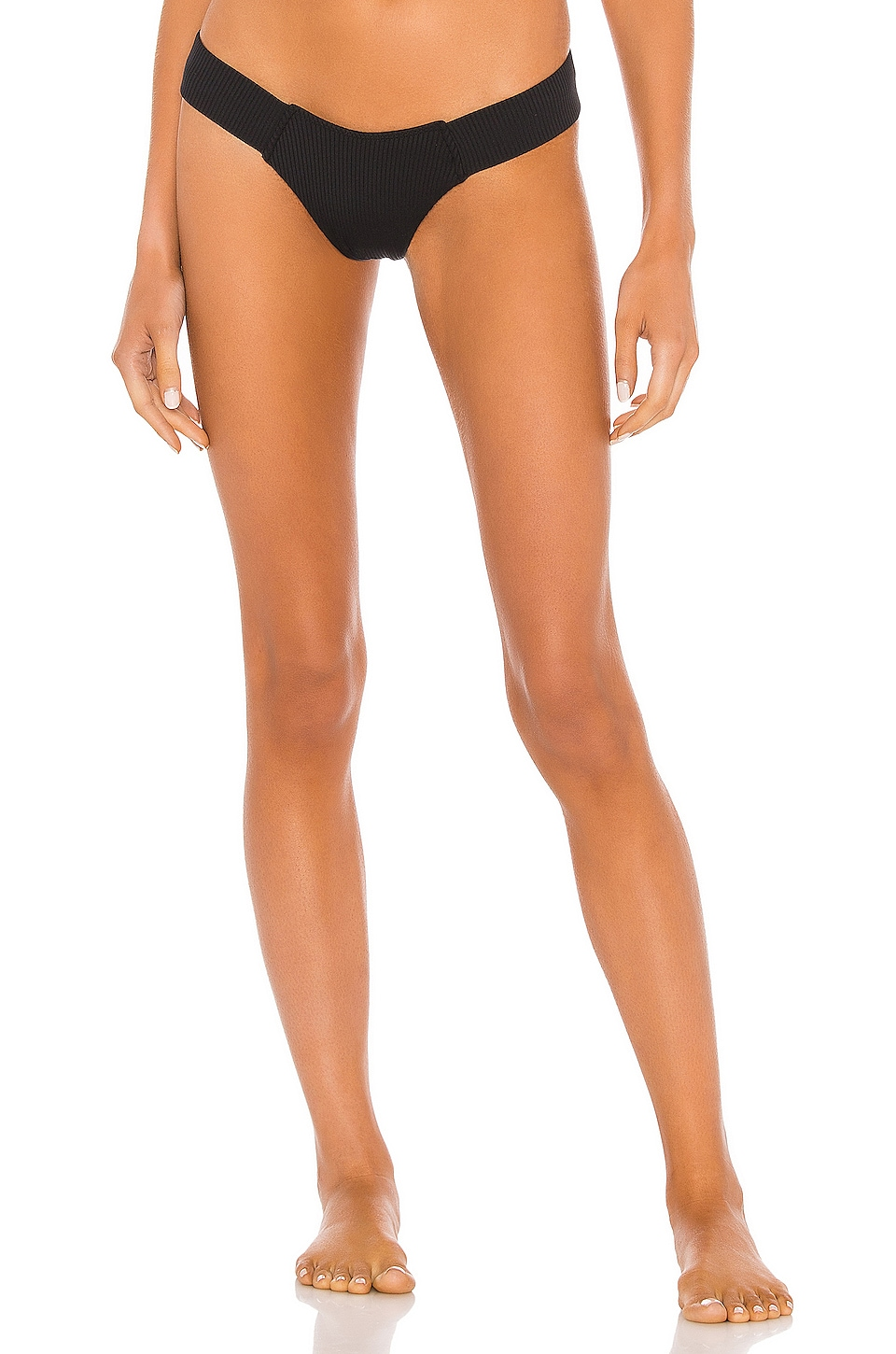 Montce Swim Uno Bikini Bottom in Black