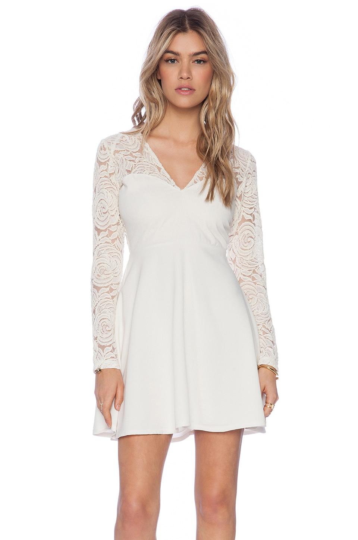 Motel Rose Child Dress in Cream
