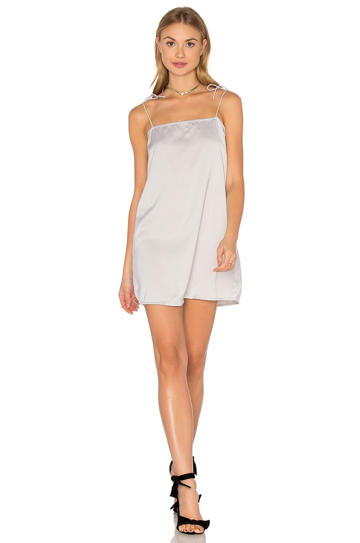 Motel Egion Dress in Silver