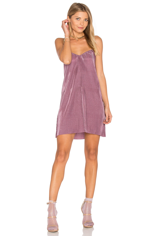 Motel Slip Dress in Heather