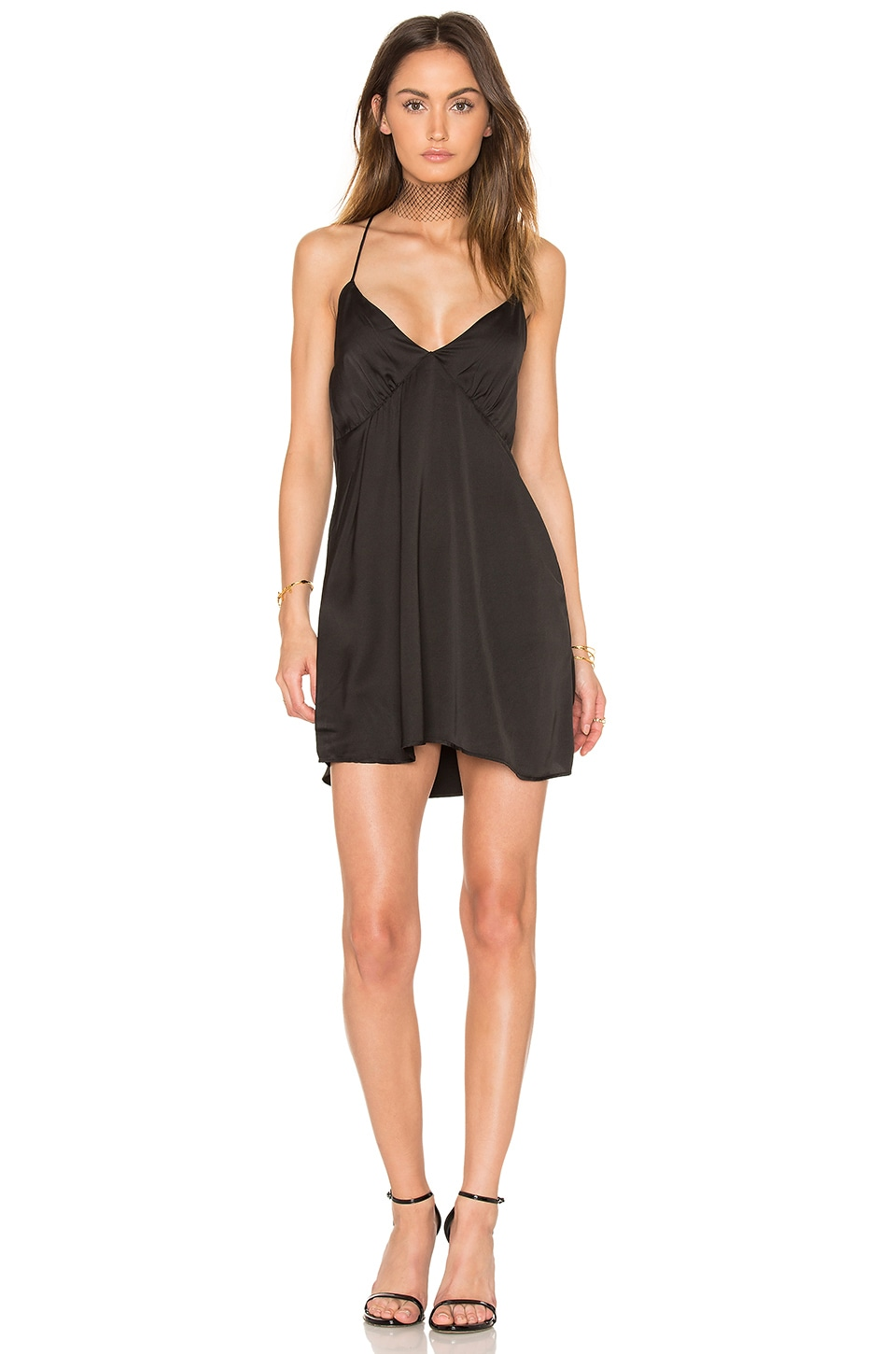 Motel Nala Dress in Black