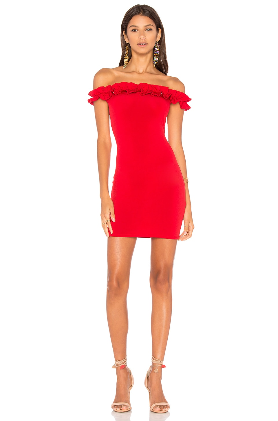Motel Rizma Dress in Red
