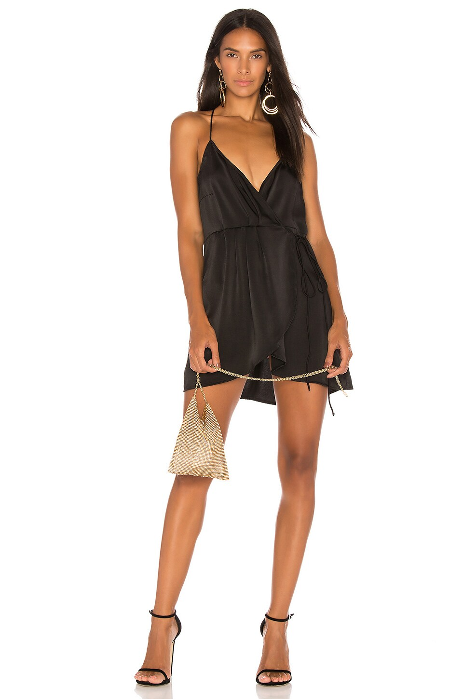Motel Furia Dress in Black