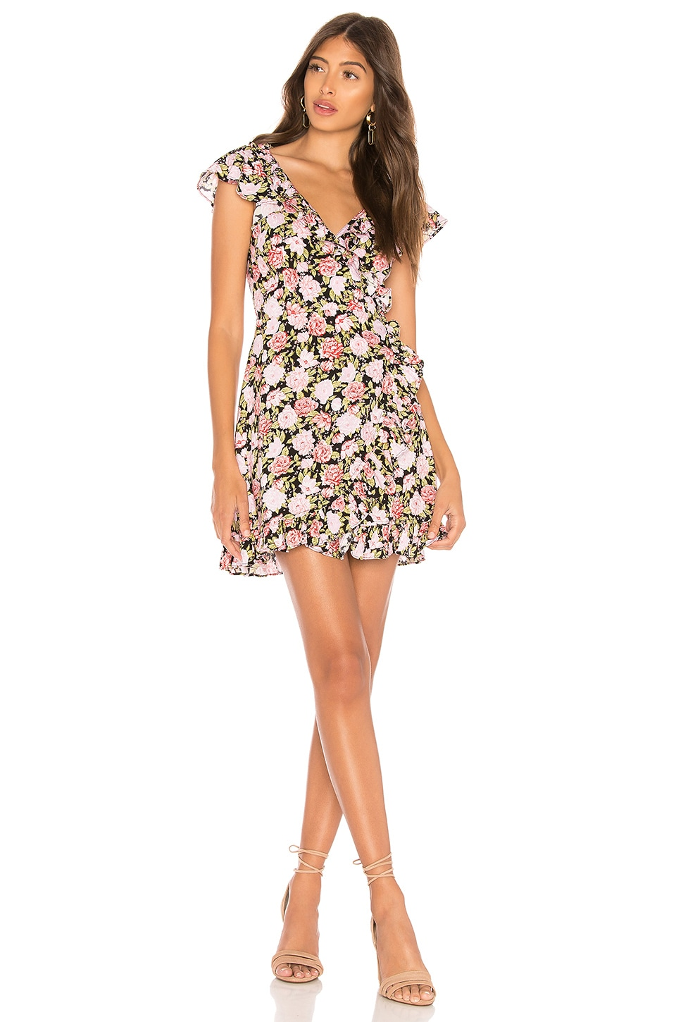 Motel Rica Dress in In Bloom Floral