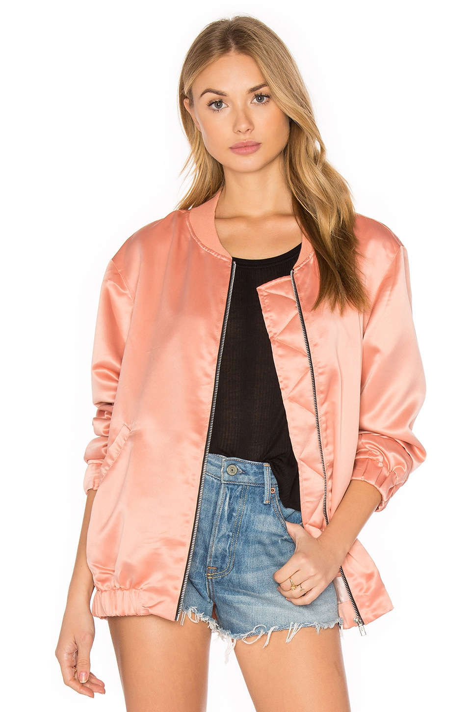 Motel Coppens Bomber in Dark Peach