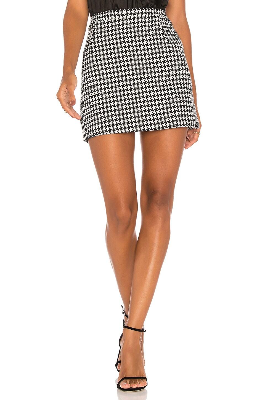 dcec12741f Motel Topaz Mini Skirt in Houndstooth Check | REVOLVE