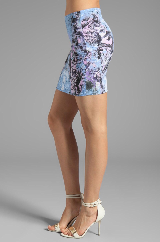 Motel Kimi Skirt in Cosmic Boogie Pale