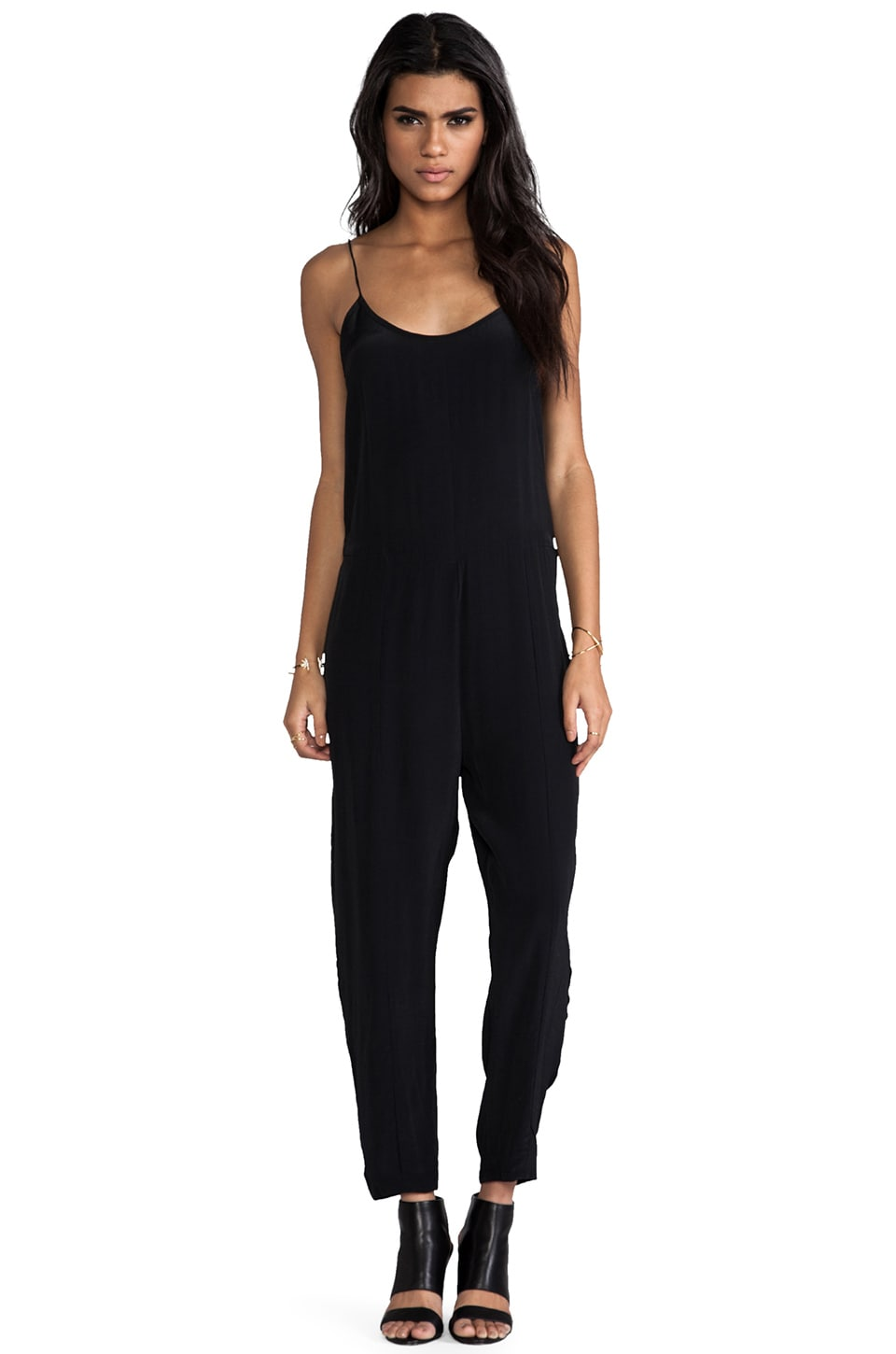 Motel Glory Jumpsuit in Black