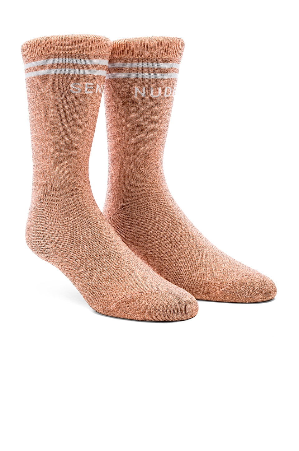 MOTHER The Tiny Dancer Socks in Nude Lurex