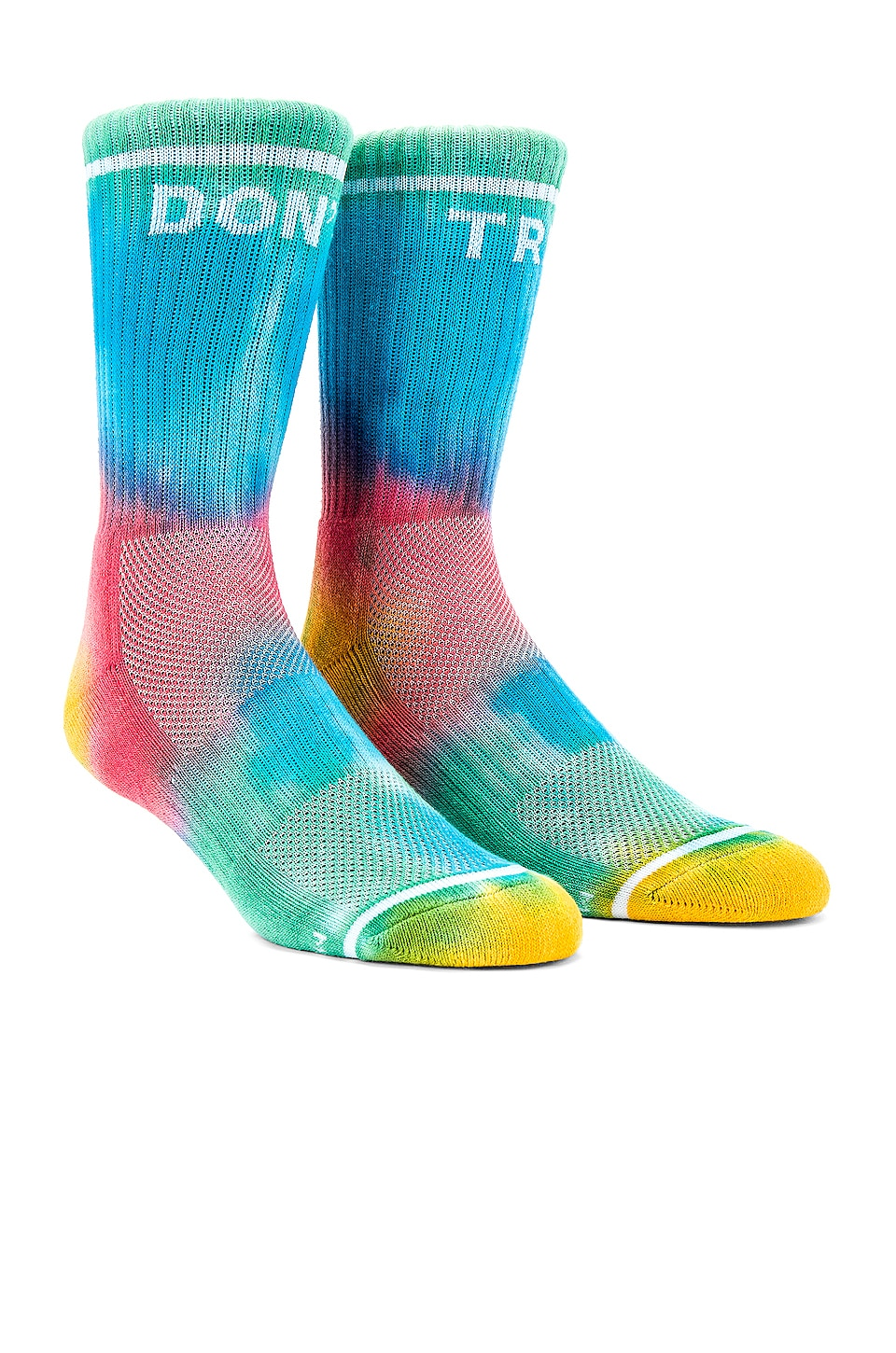 MOTHER Baby Steps Socks in Don't Trip Tie Dye