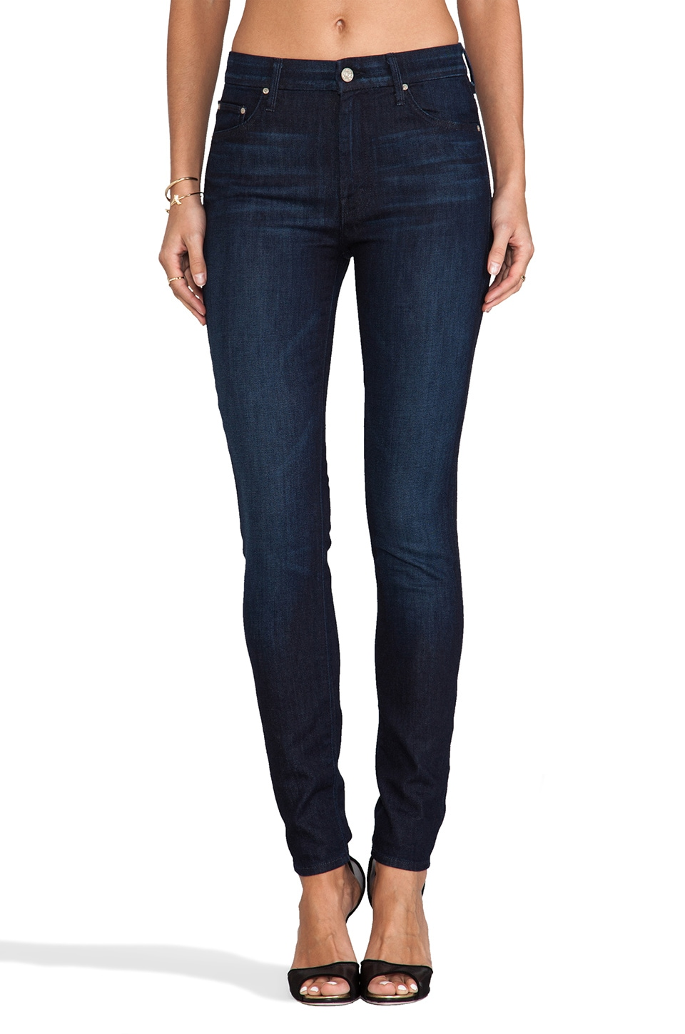 MOTHER High Waisted Looker in Night Moves