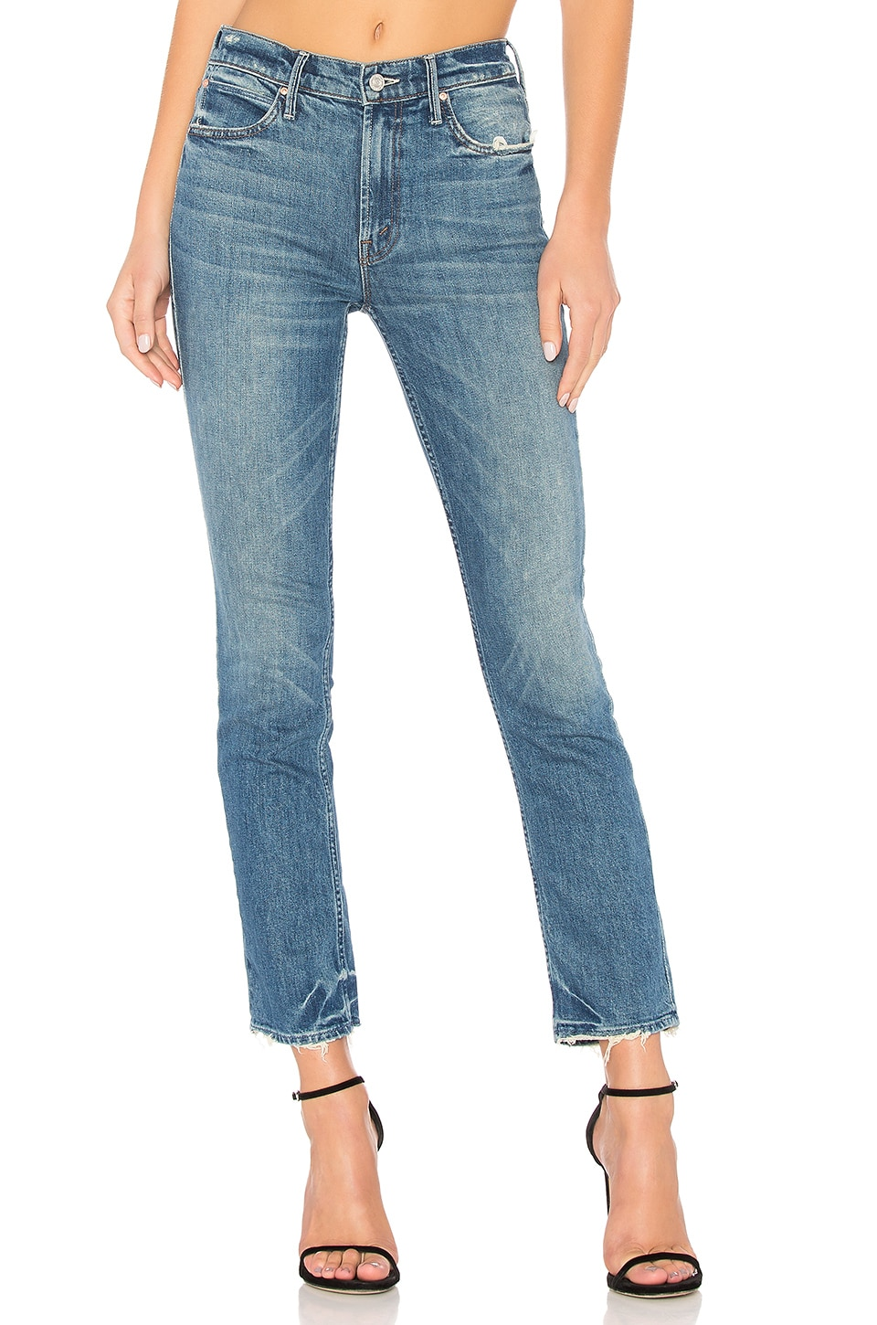 The Flirt Ankle Fray Jean. - size 23 (also in 24,25,26,27,28,29,30) Mother