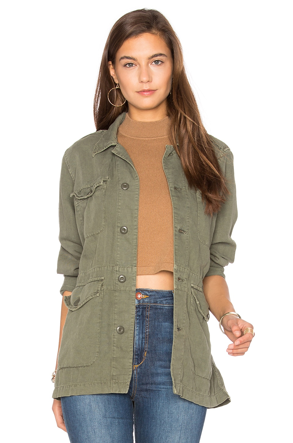 MOTHER The Loose Veteran in Military Green