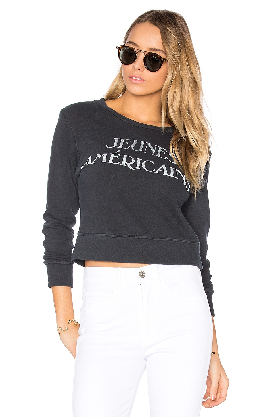 The Matchbox Sweatshirt by Mother