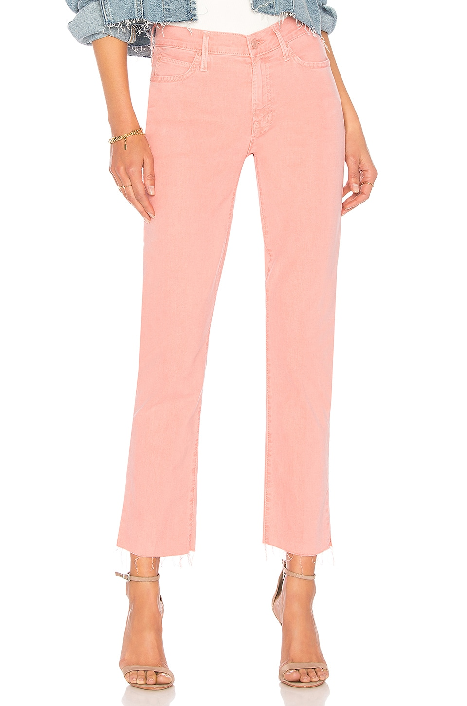 MOTHER THE RASCAL ANKLE SNIPPET PANT