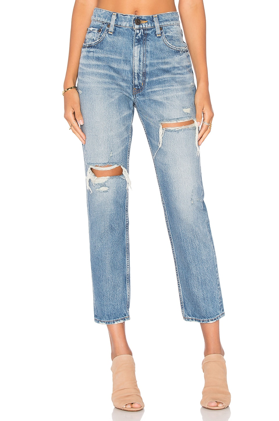 Moussy Bowie Skinny in Blue