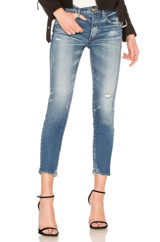 MOUSSY Velma Skinny Jean in Blue