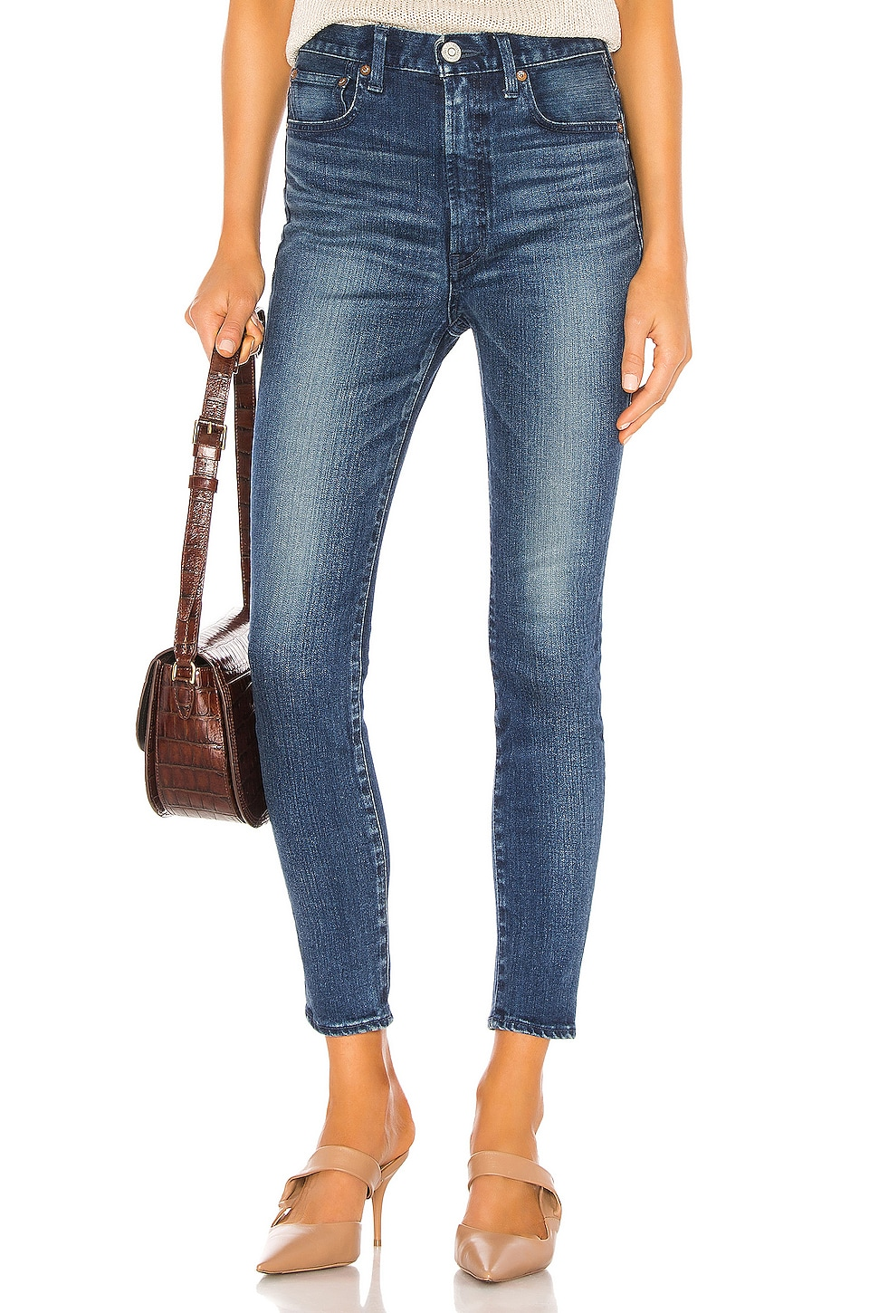 Moussy Vintage Willows Rebirth Skinny in Blue