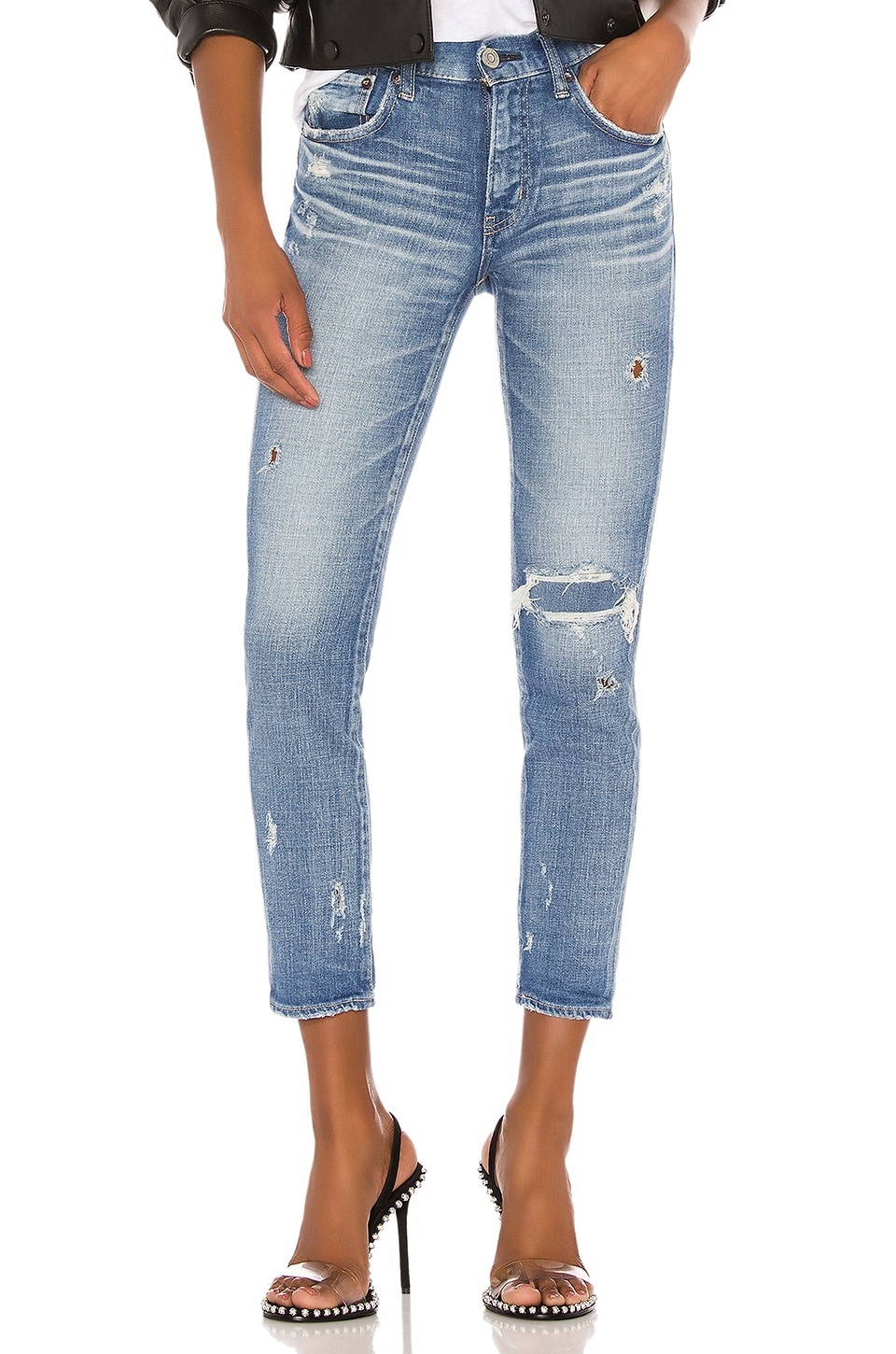 Moussy Vintage Lenwood Skinny in Light Blue