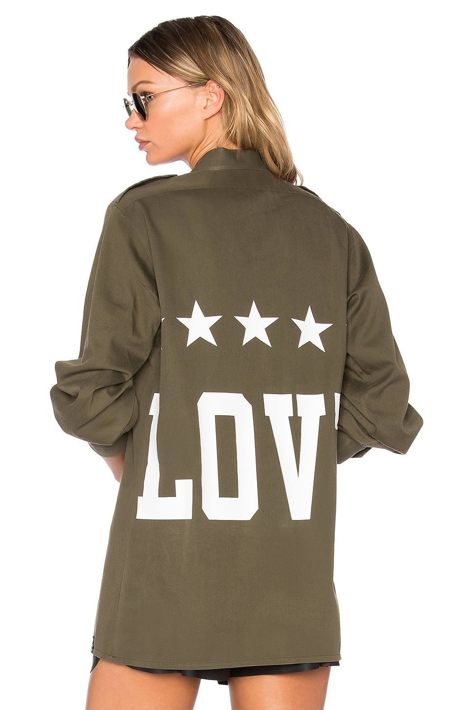 MPD BOX Love Shirt in Military