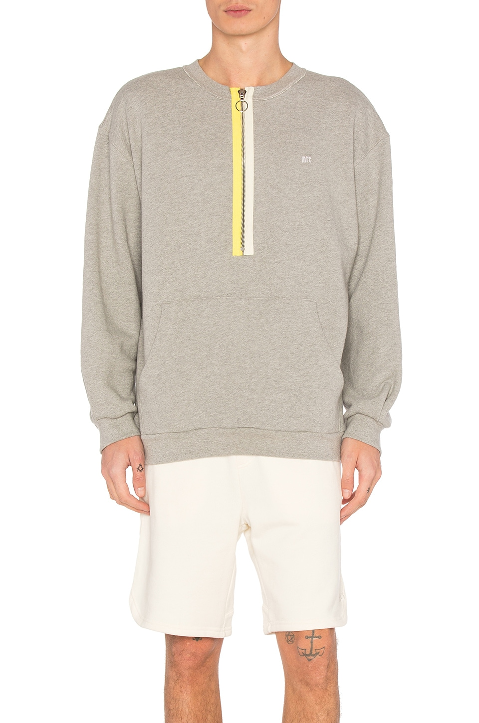 Zipper Crewneck by Mr. Completely