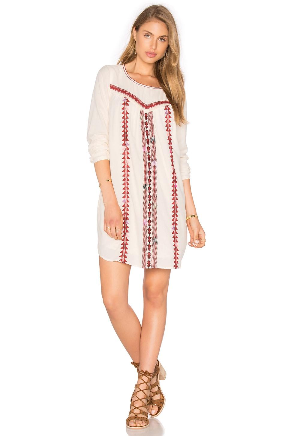 Embroidered Boho Dress by Maison Scotch