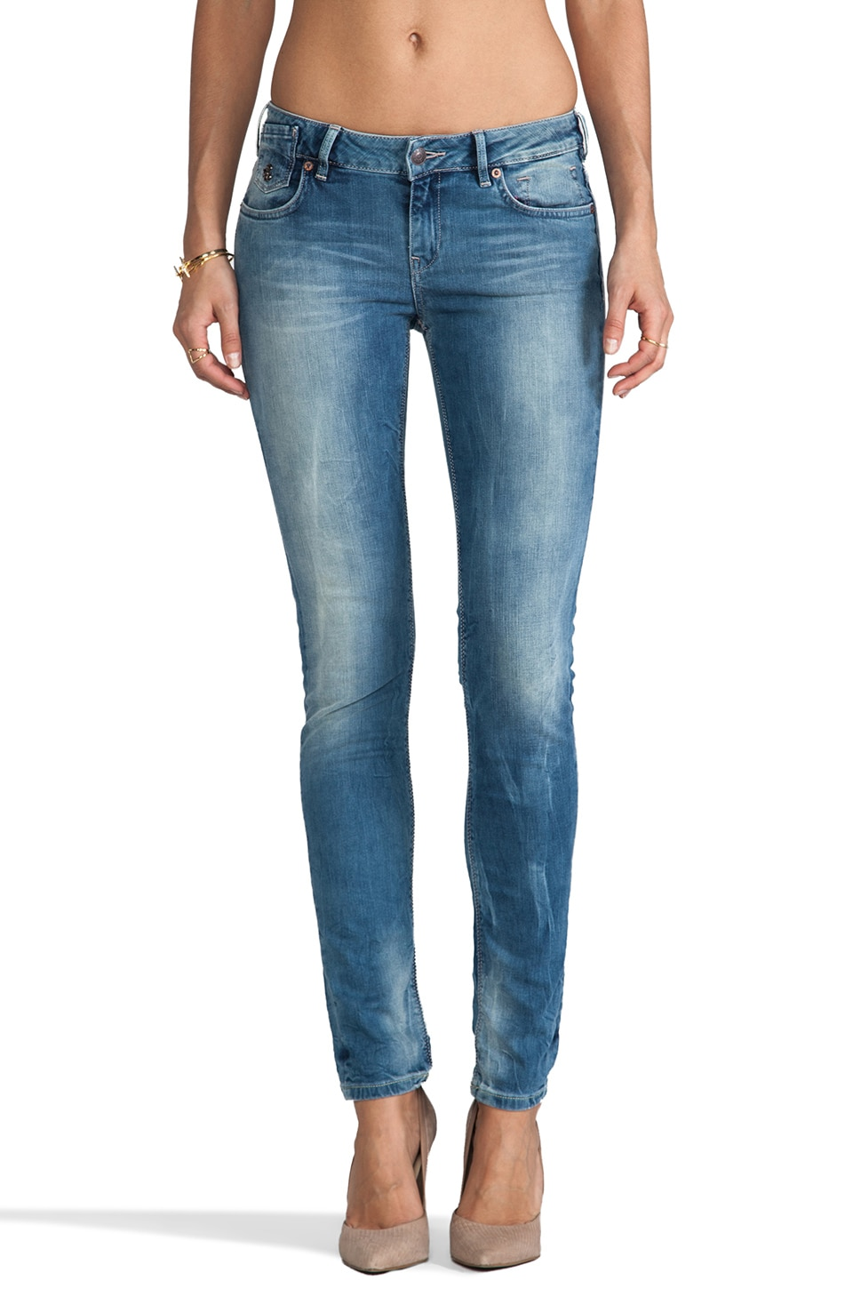 Maison Scotch Parisienne Skinny in Light Denim