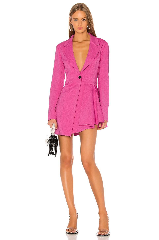 MSGM Blazer Dress in Pink
