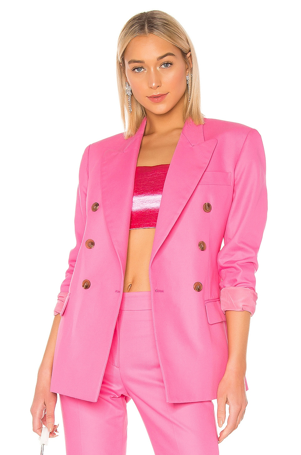 MSGM Blazer Jacket in Pink