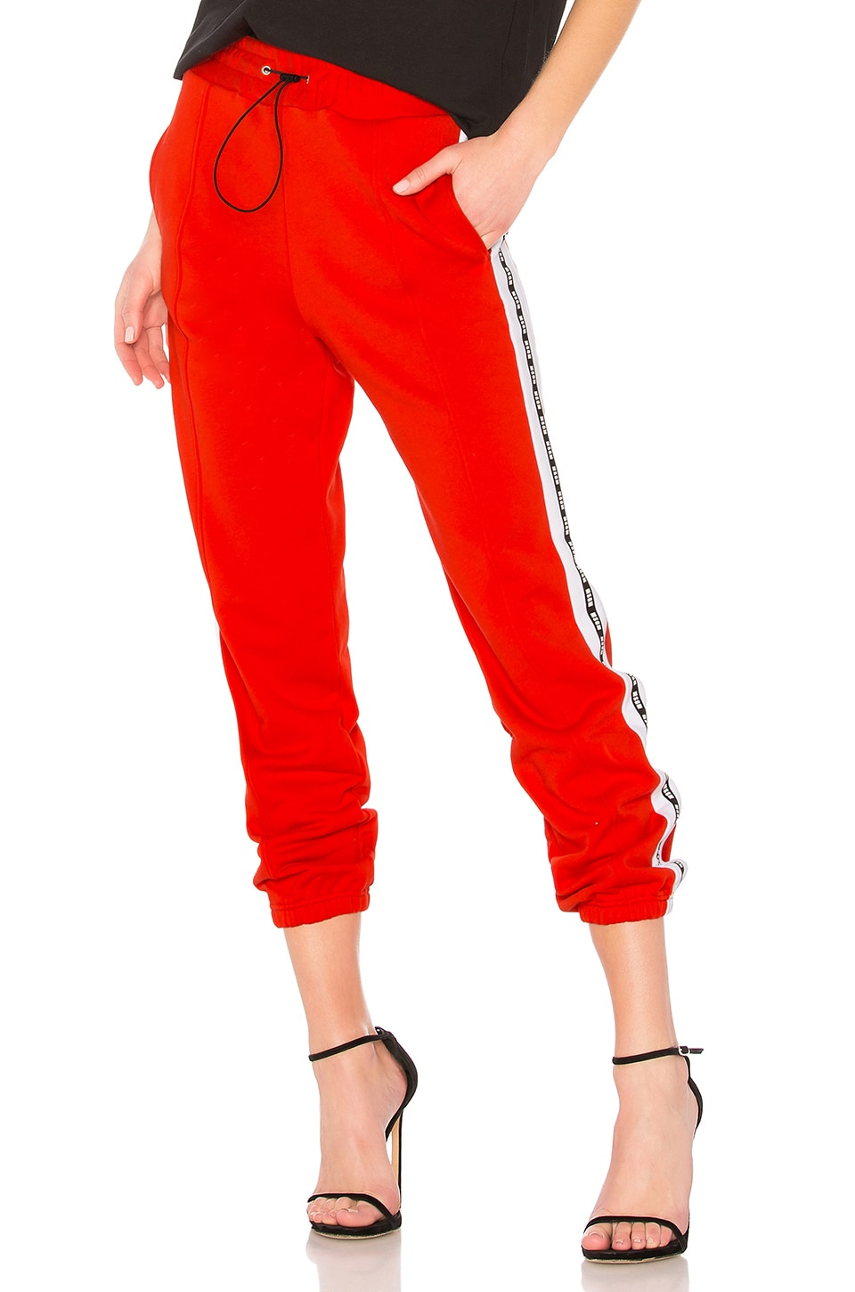 MSGM Track Pant in Red
