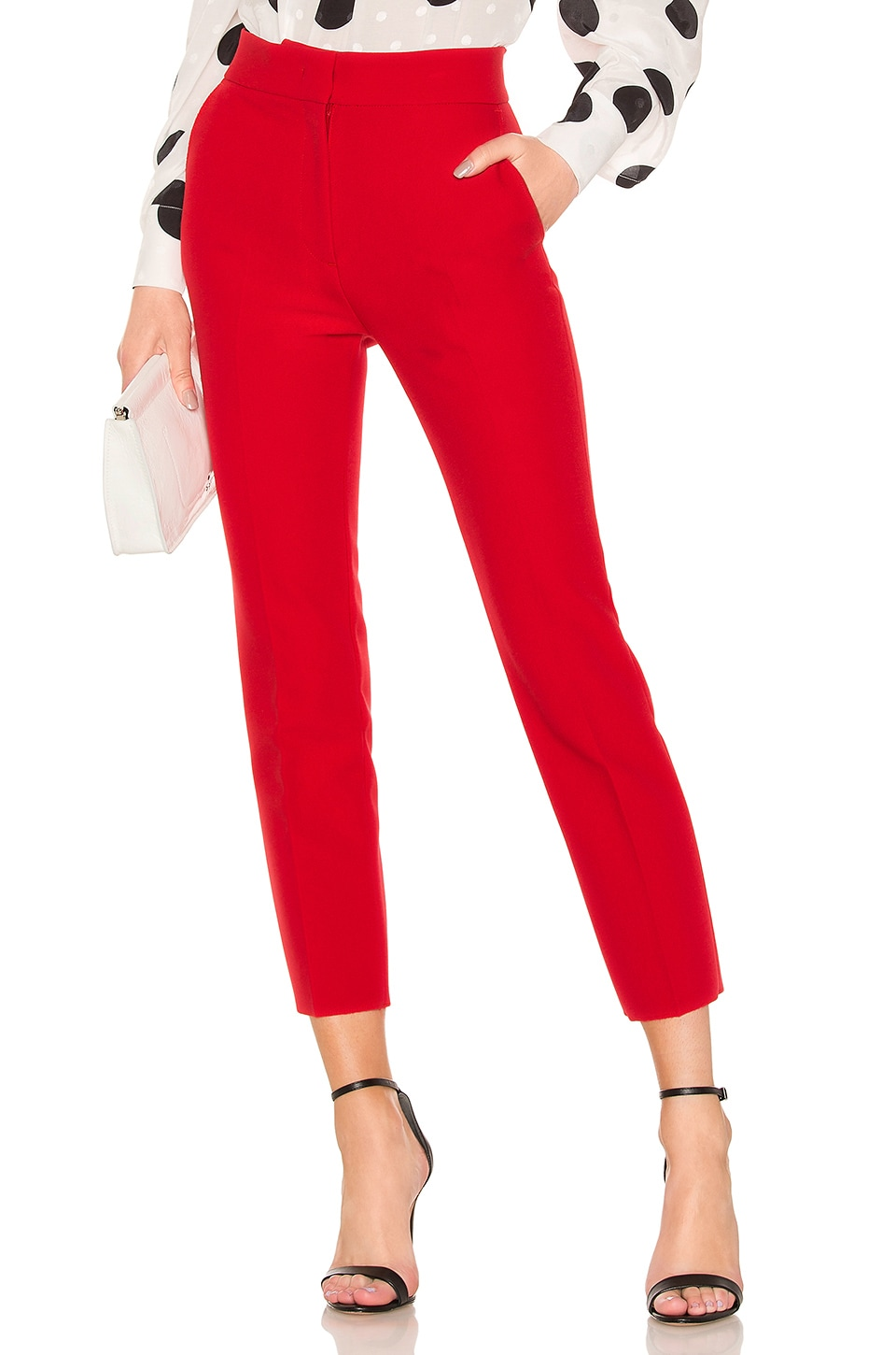 MSGM Trouser in Red
