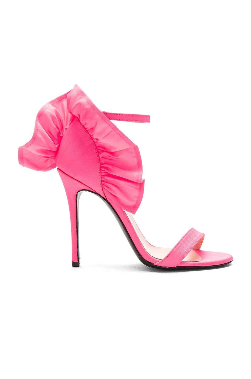 Ruffle Heel