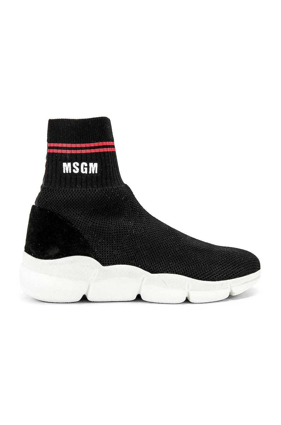 MSGM Z Waves Sneaker in Black
